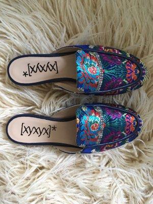Xyxyx Sabot multicolore cuir
