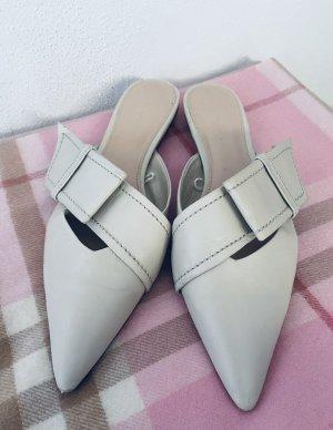 Pantoletten beige|hell -Zara Woman-