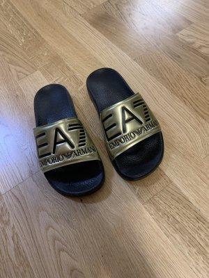 Emporio Armani Klompen goud-zwart