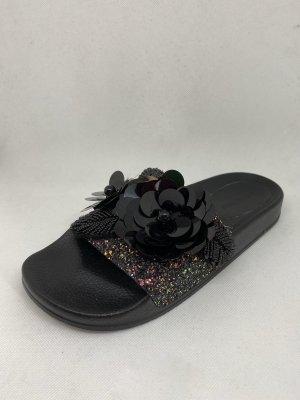 Hallhuber Chaussons de bain noir