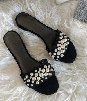 Catwalk Klompen zwart