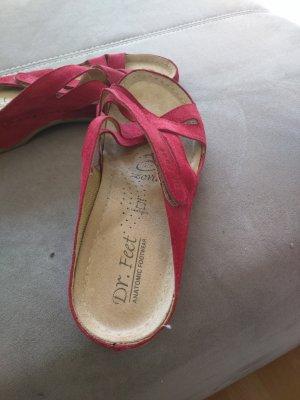 Comfort Sandals raspberry-red