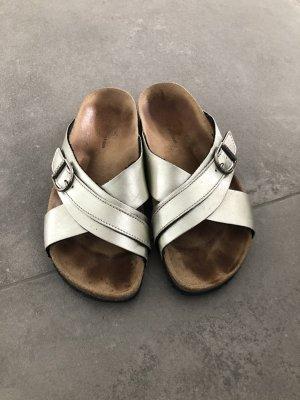 Hilfiger Sabots silver-colored