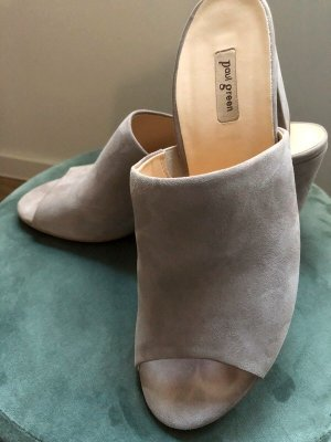 Paul Green Heel Pantolettes taupe