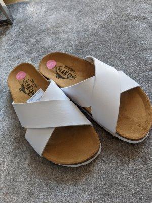 Plakton Sandalo comodo bianco