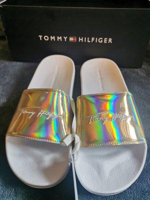 Tommy Hilfiger Pantoufles doré