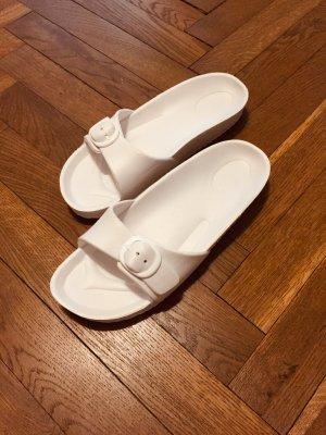 H&M  bianco Acrilico