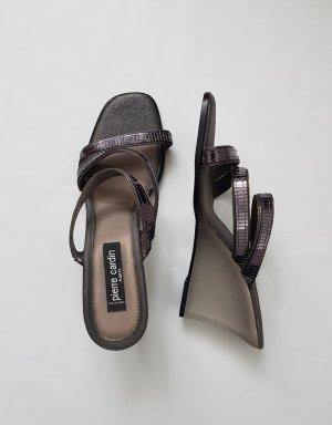 Pierre Cardin Heel Pantolettes grey-dark grey