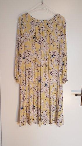 Pantone-Farbe des Jahres 2021: GELB - luftig-leichtes Sommerkleid, Midikleid,  Anna Glover x H&M, Gr. 40