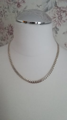 Curb Chain silver-colored