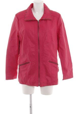 Paola! Veste motard rose style décontracté
