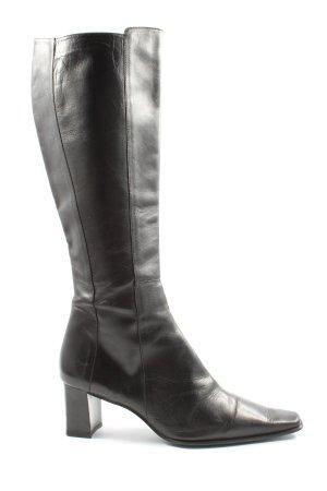 PAOLA FERRI Brede Schacht Laarzen zwart elegant