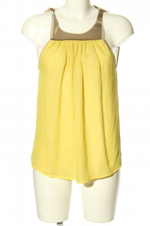 Paola Frani Cut Out Top primrose casual look