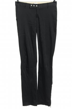 Paola Frani Jersey Pants black elegant
