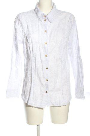 Paola! Langarm-Bluse weiß Casual-Look