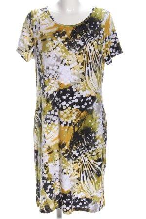 Paola! Shirtkleid abstraktes Muster Casual-Look