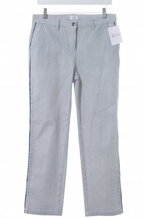 Paola! Slim Jeans weiß-dunkelblau Streifenmuster Casual-Look