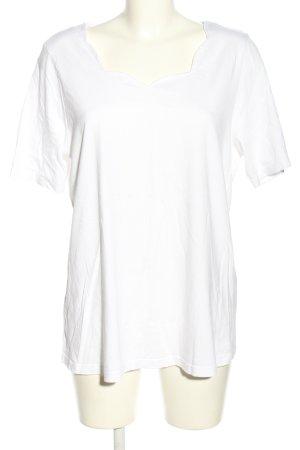 Paola! Camiseta blanco look casual