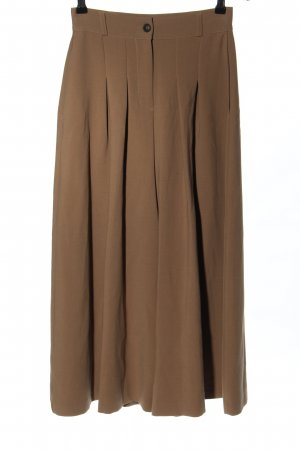 Paolo Casalini Jupes-culottes brun style d'affaires