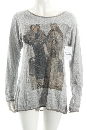 Paolo Casalini Shirt hellgrau Street-Fashion-Look
