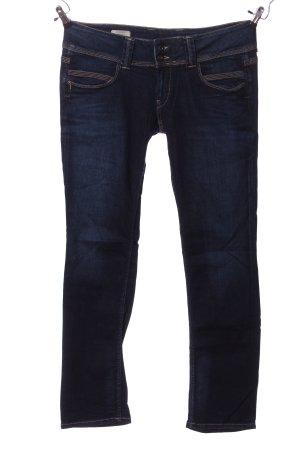 Papa Jeans Straight-Leg Jeans blau Casual-Look