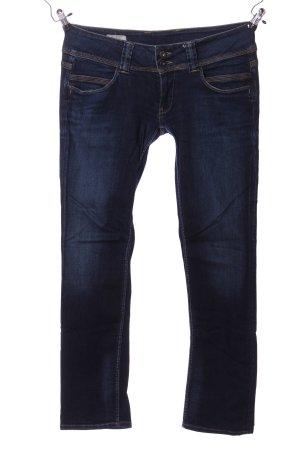 Papa Jeans Straight-Leg Jeans schwarz Casual-Look
