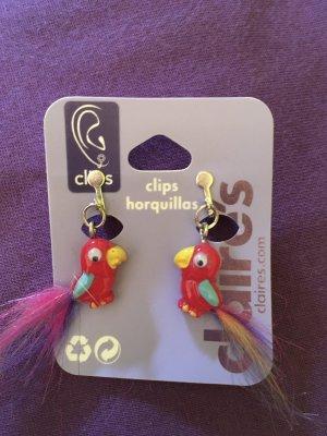 claire Klips czerwony