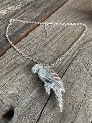 Heine Necklace silver-colored