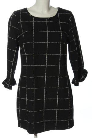 Papaya A-Linien Kleid schwarz-weiß Business-Look