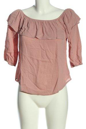 Papaya Blusa alla Carmen rosa stile casual