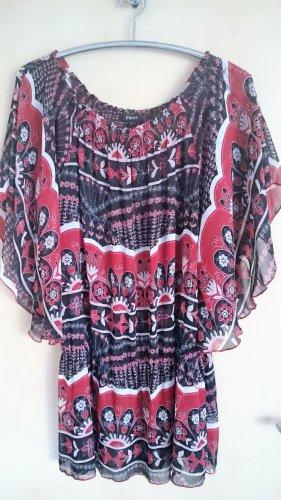 Papaya Leichte Tunikabluse Carmen-Bluse