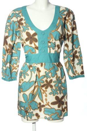 Papaya Blusa a tunica stampa integrale stile casual