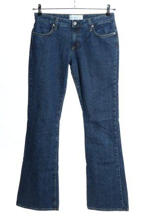 paper denim&cloth Jeansy o kroju boot cut niebieski W stylu casual