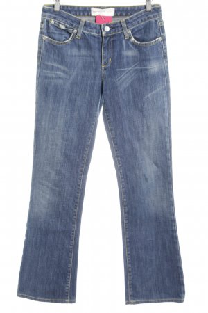 paper denim&cloth Boot Cut Jeans blau Jeans-Optik