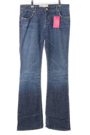 paper denim&cloth Jeans taille basse bleu style décontracté