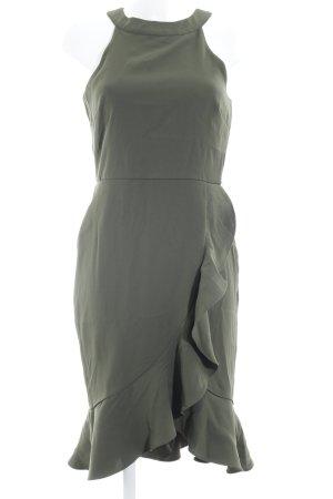 Paper Dolls Abendkleid waldgrün Elegant