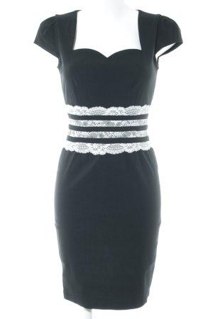Paper Dolls Etuikleid schwarz Elegant