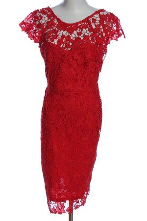Paper Dolls Spitzenkleid rot Elegant