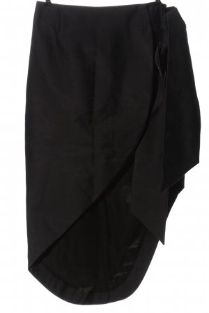 Paper London Asymmetry Skirt black casual look
