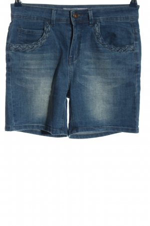 Paper & Stitch High-Waist-Shorts blue casual look
