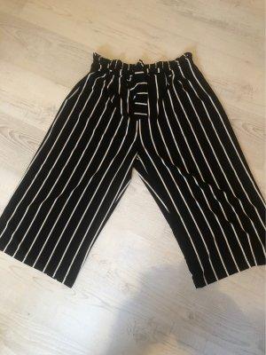 Lascana Paperbag Trousers black-white