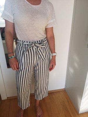 Zara Pantalone palazzo multicolore Cotone