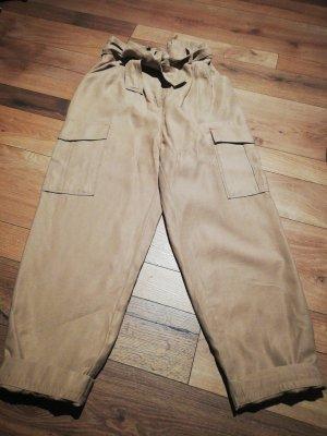 H&M Pantalon fuselé beige