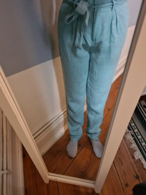 Long Tall Sally Pantalón tipo suéter turquesa