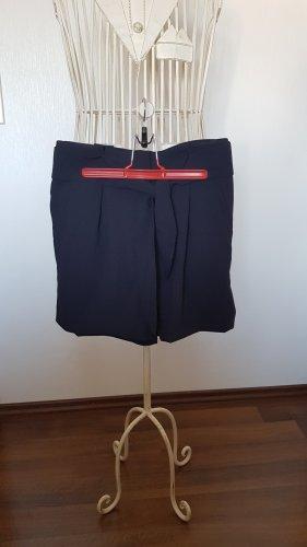 H&M Pantalón de vestir azul oscuro