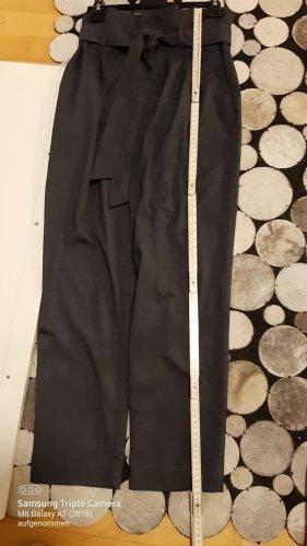 H&M Pantalón de cintura alta gris pizarra