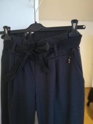 Paperbag Hose schwarz