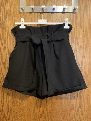Paperbag Hose von Kontatto, schwarz, Gr. M