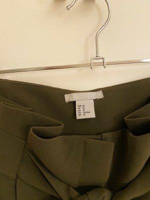 H&M Premium Wortelbroek olijfgroen Polyamide
