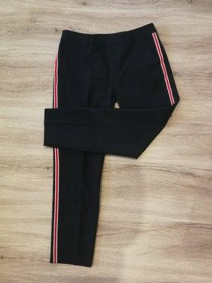 Zara Pantalone largo blu scuro
